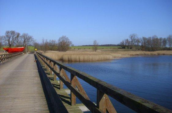 Holzbrücke nach Liddow