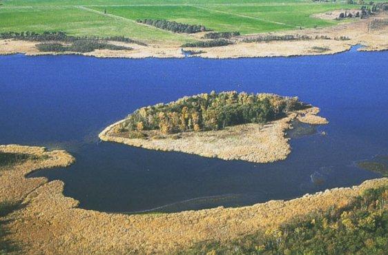 Blick von Osten auf den zentralen Teil des Sees (Bild mit freundlicher Genehmigung (c) Demmler Verlag)