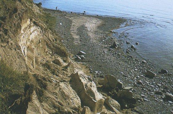 Aktives Kliff (Bild mit freundlicher Genehmigung © Demmler Verlag)