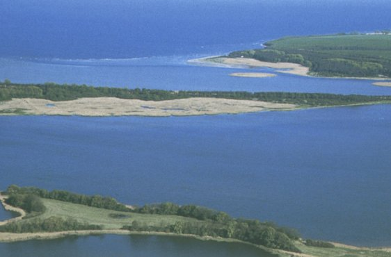 Blick von Nordwesten auf die Silmenitzer Heide (Bild mit freundlicher Genehmigung (c) Demmler Verlag)