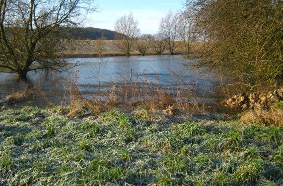 Soll vor dem Schliesee nach Verschluss der Entwässerungsleitung im Januar 2015