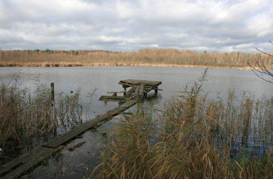 Schlosssee/Jezioro Stolsko - Europäisches Naturschutzgebiet (FFH-Gebiet) in Deutschland und Polen
