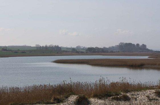 Blick von Norden auf den Riedensee